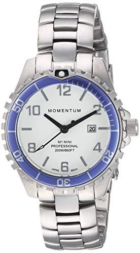 Momentum Women's 1M-DV07WP0 Mini Analog Display Quartz Silver Watch