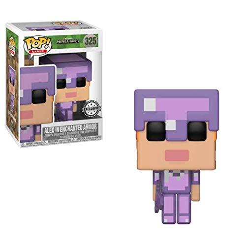 Pop! Games - Minecraft - ALEX in ENCHANTED ARMOR]()