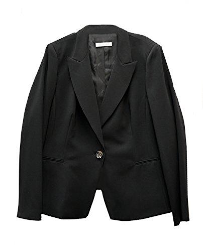 marina-rinaldi-womens-crepe-single-button-blazer-jacket-sz-24-black-120729mm