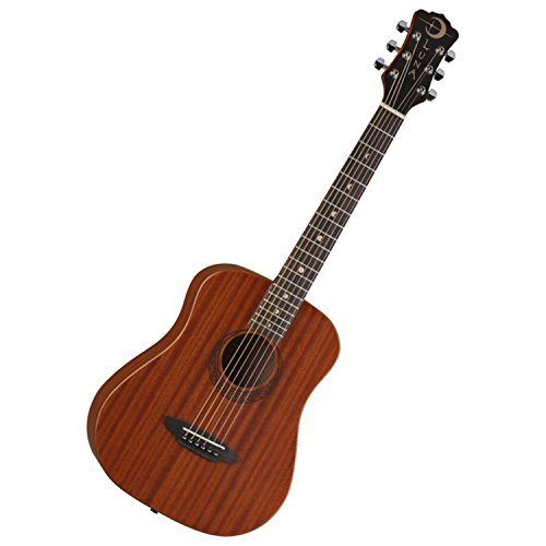 Luna Safari Series Muse Mahogany 3/4-Size Travel Acoustic Guitar - Natural