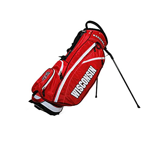 Wisconsin Badgers Standup Golf Bag - Golf Stand Bag by Team Golf