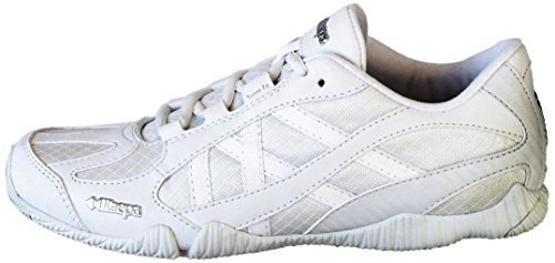 Kaepa Stellarlyte Cheer Shoe (Pair), White, 6 by Kaepa