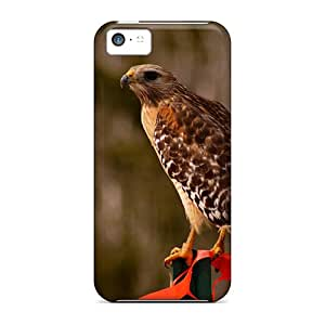 Iphone5c iphone 5c Slim Fit mobile phone covers pictures case Red Shouldered Hawk