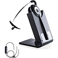 Cisco certified Jabra Cordless Headset | PRO 920 Bundle | Electronic Remote Answerer included | Cisco VoiP phones: 8941, 8945
