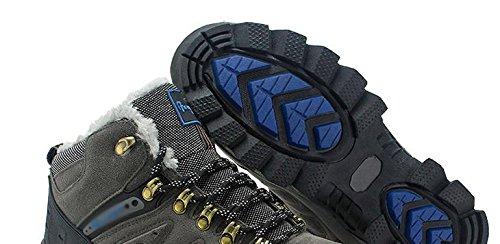 hommes chaud en 44 randonn¨¦e plus de Chaussures cachemire air pour antid¨¦rapant portent plein qPB7Y