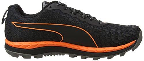 Puma Herren Speed Ignite Trail Outdoor Fitnessschuhe Schwarz (nero-shocking Orange-quiet Shade)