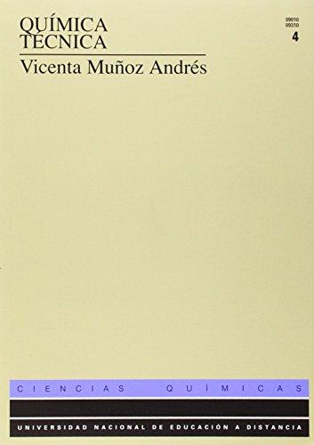 Descargar Libro Química Técnica. Tomo Iv Vicenta MuÑoz AndrÉs