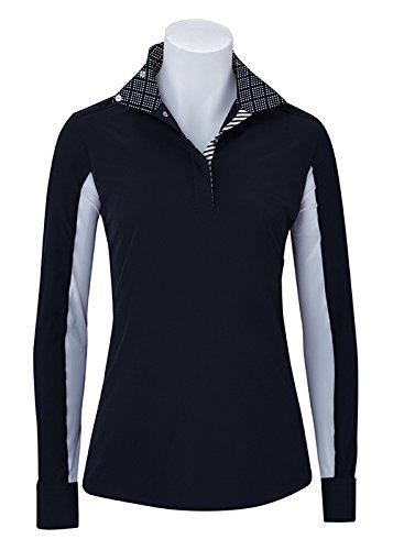 (RJ Classics Prestige Collection: Rebecca Black with Diamond Trim Long Sleeve Shirt XSmall)