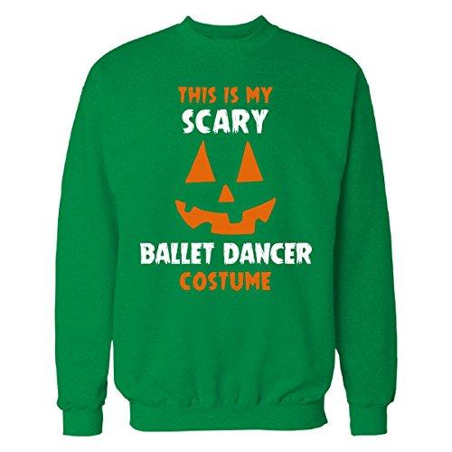 [This Is My Scary Ballet Dancer Costume Halloween Gift - Sweatshirt] (Irish Dancer Costumes Halloween)
