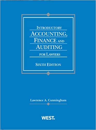 Amazon introductory accounting finance and auditing for introductory accounting finance and auditing for lawyers coursebook sixth edition edition fandeluxe Choice Image