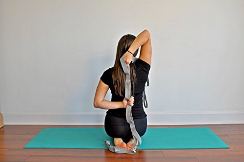 The Work(in) Stretching Band with Loops Physical Therapy, Yoga, Athletes, Dances Includes e Book, Bag and Videos