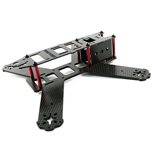 TARGETHOBBY Quadcopter Kits 3K CF Quadcopter Frame For QAV210 FPV Drone Rc Racing Quadcopter