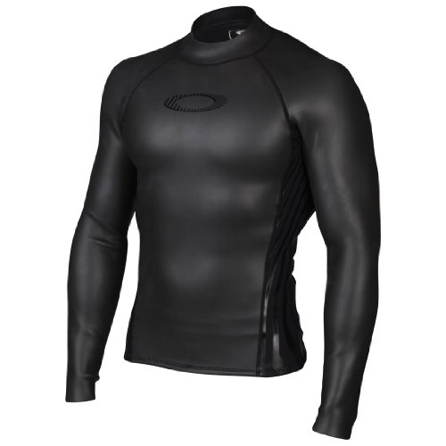 Tension Long-Sleeve Shirt, Jet Black, Medium ()
