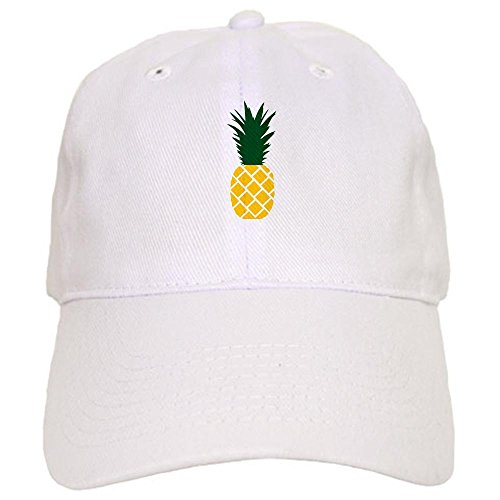 CafePress Pineapple Baseball Adjustable Closure