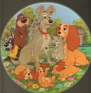 Lilli E Il Vagabondo Walt Disney Picture Disc Amazoncouk Music