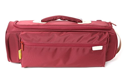 Curtis Bags Trumpet Insulation Hybrid Single Bags Bb/C Burgandy by Curtis Bags
