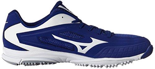 Mizuno Mens Player Trainer Turf Shoe Royal / Bianco
