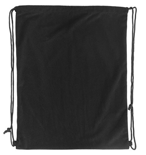 "Pardao Velvet Luxury Gift Bag - 17 x 20"" - Large Black Drawstring Backpack - Cloth Swag Dust Cover ()"