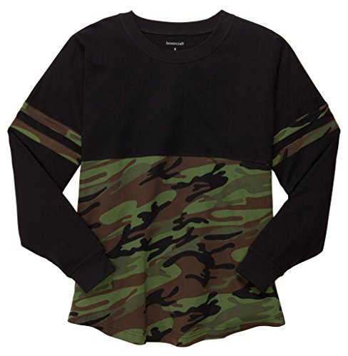 Price comparison product image POM POM JERSEY by Boxercraft (Youth) in 5 colors (Large, Black Camo)