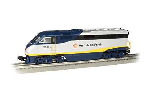 Williams by Bachmann EMD F59PHI Locomotive with True Blast Plus Sound – Amtrak California #2001 – O Scale, 23402…