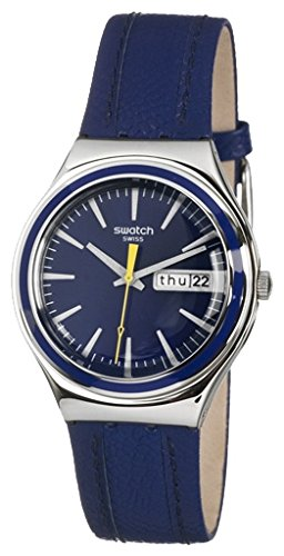 Amazon.com: Swatch Blue Suit Mens Watch YGS747 Wrist Watch (Wristwatch): Watches