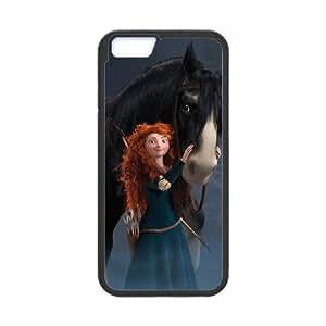 Disneys Brave iPhone 6 Plus 5.5 Inch Cell Phone Case Black yyfabd-324567