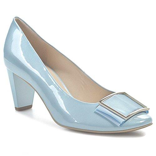 Blue 10 Dress Leather 6414 7 Ho Round Ladies Sky Toe Hogl Womens 44 shoes qwAOxtnHH
