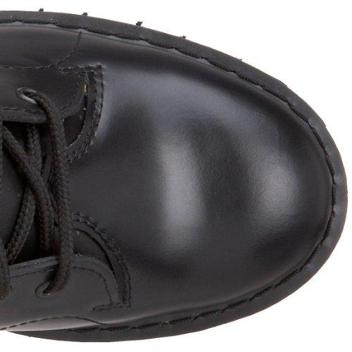 Hombre Leather 102 Blk para Botines Boot Monkey Demonia wqpS7Xx