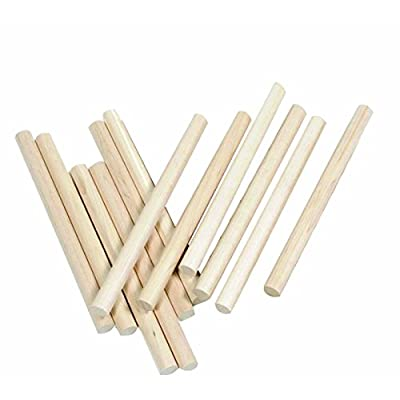 Westco Pack of 12 Maple Wood Lummi Sticks (12in): Toys & Games