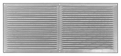 Construction Metals FOV168G Aluminum Face On Vent 16 In. x 8 In. Galvanized - Quantity 12