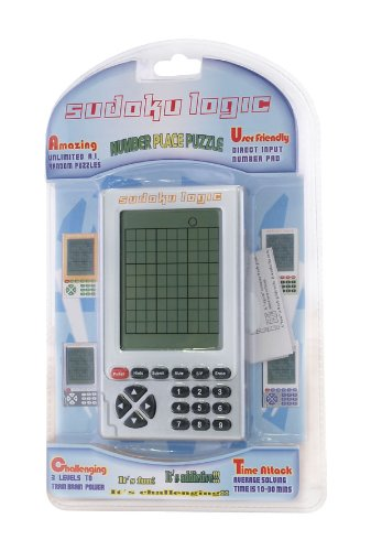 Sudoku Logic hand held number placing game