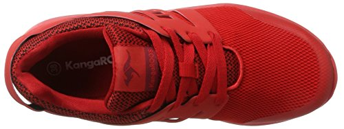 Red Kinder Xcape Rot KangaROOS Kids Sneaker Unisex ExZHCHwqY5