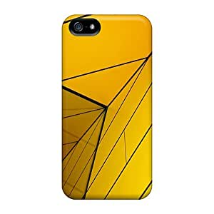 Snap-on Yellow Structure Cases Covers Skin Compatible With Iphone 5/5s