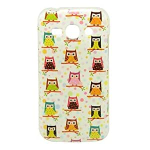 hao Owl Babies Pattern TPU Case for Samsung Galaxy Ace 3 S7270 S7275 S7272