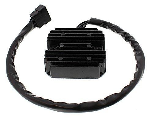 (DB Electrical New AKI6044 Voltage Regulator Rectifier for 1470cc 12V Kawasaki VN1500 Vulcan 1500 Classic 1996-2008, 676cc W650 EJ650 2000-2002, 1552cc VN1600 Vulcan 1600 Nomad 2005 2006 2007 2008)