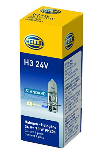 HELLA H3 24V Standard Halogen Bulb, ()