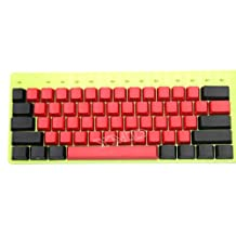 NPKC 104 87 61 Mixed Red Black PBT OEM Profile Keycap For 104 TKL 60% MX Switches Mechanical Gaming Keyboard (61 Side Print)