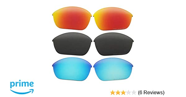 2.0mm Thickness Polarized Replacement Lenses Brown for OO9144 Half Jacket 2.0