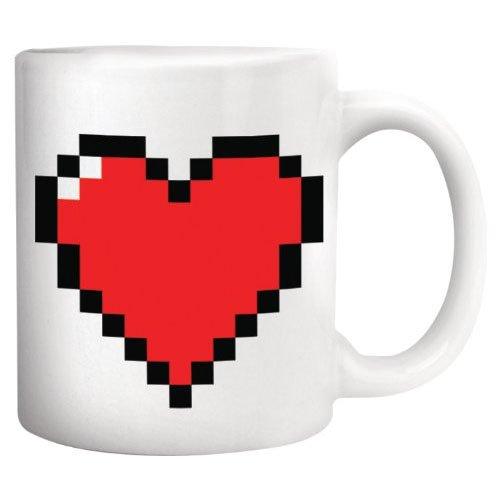 The 4 best pixel heart morph mug