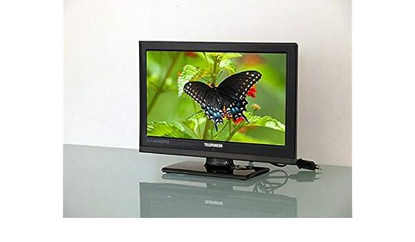 Televisore 16 TV TELEFUNKEN TE16912B17 LED TVC HD 720p HDMI VGA CAM: Amazon.es: Electrónica