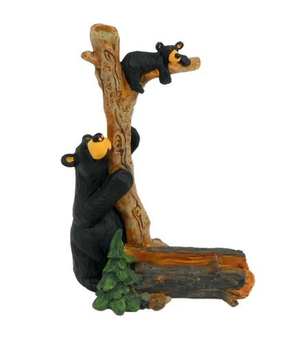 Bearfoots Bears Bizzy and Cubby Business Card Holder by Demd