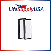 Pack of 2 HEPA Replacement Filters for Alen air TF30 TF 30 for T100 and T300 Air Purifiers by LifeSupplyUSA