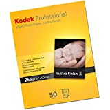 KODAK KAPROA4L  Professional Lustre A4, 50 Fogli, Formato A4, Peso 255g/mq, Carta Inkjet Fotografica, Inkjet Photo Paper
