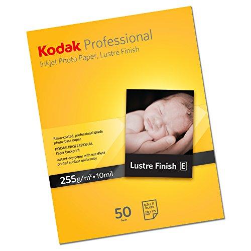 48 opinioni per KODAK Professional Lustre A4, 50 Fogli, Formato A4, Peso 255g/mq, Carta Inkjet