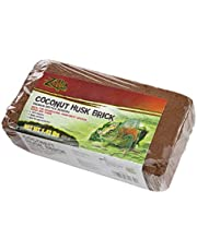 Zilla 8408 Reptile Terrarium Bedding Substrate Coconut Husk Brick