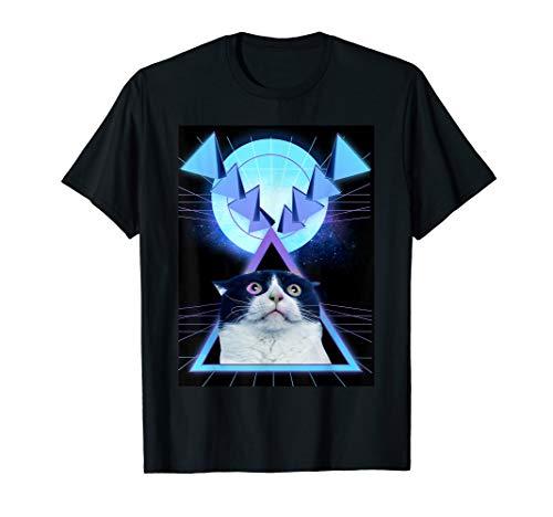 - Walnut & 39th Geo Cats2 t-shirt