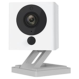 Wyze Cam 1080p HD Indoor Wireless Smart Home Camera with Night Vision, 2-Way Audio, Works with Alexa & the Google Assistant (Pack of 2), White – WYZEC2X2