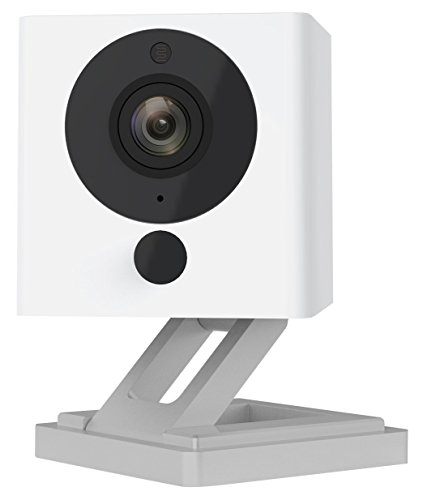 Wyze Cam 1080p HD Indoor Wireless Smart Home Camera with Night Vision, 2-Way Audio, Works with Alexa (Pack of 2) ()