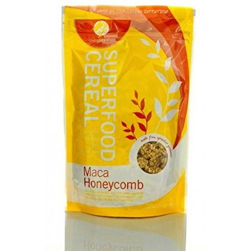 LIVINT Superfood Cereal; Maca Honeycomb , Pack of 15 by Living Intentions