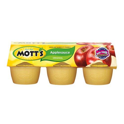 Mott's Apple Sauce, Original, 4-Ounce Cups (Pack of 24) Review
